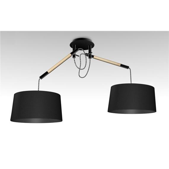 Lampa wisząca Mantra Nordica E27 2L 4931