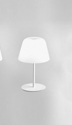 AYERS T19 Lampka nocna biała