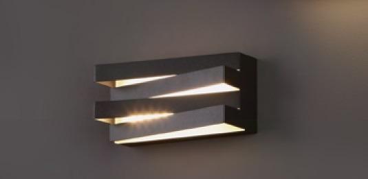 Araxa W0178 BK Lampa Ścienna czarna MaxLight