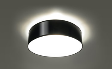 Arena 35 czarna SL.0121 Sollux Lighting Lampa sufitowa