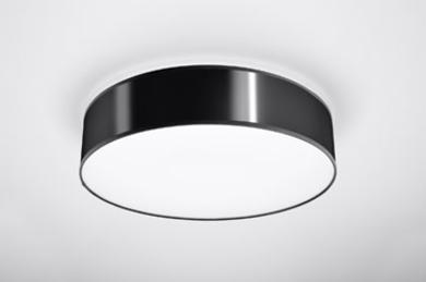 Arena 45 czarna SL.0124 Sollux Lighting Lampa sufitowa