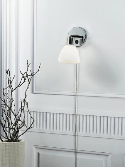 Biała lampa ścienna Nordlux Ray 63191033