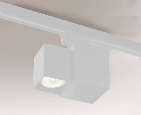 Bizen 7708 Shilo Biały Reflektor do szynoprzewodu