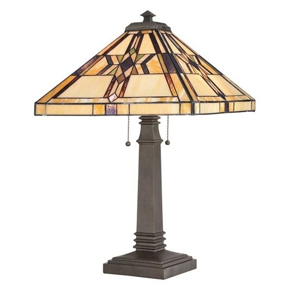Finton QZ/FINTON/TL Lampa stołowa Elstead Lighting
