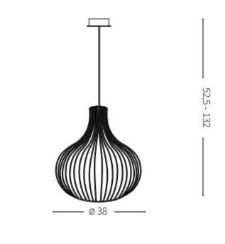 Ideal Lux Onion SP1 D38 Zwis