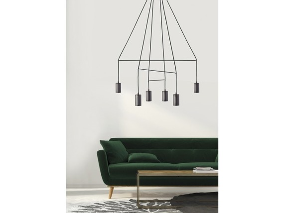 Imbria Black 9675 Nowodvorski Lampa wisząca
