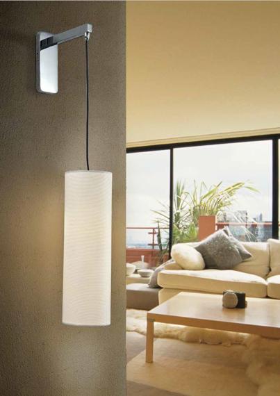 Kinkiet LED Azzardo Almeria biały