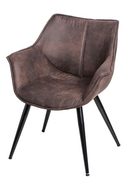 Krzesło Lord brązowe ciemne