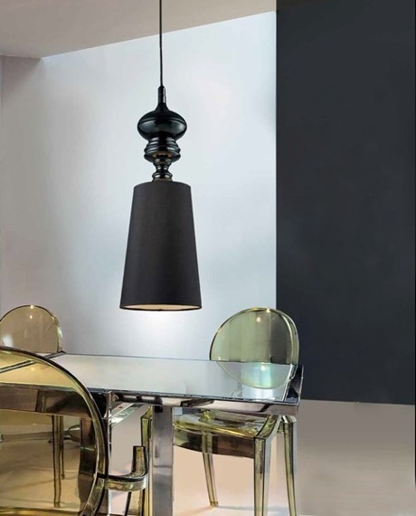 Lampa AZZARDO BAROCO AD 7121-1 Black