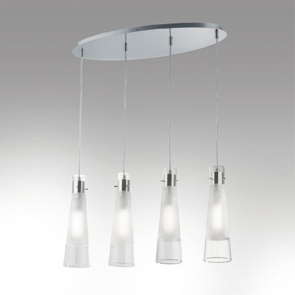 Lampa IDEAL LUX Kuky Clear SP4