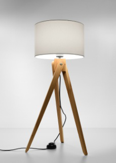 Lampa podłogowa Sollux Lighting Legno 1 SL.0523