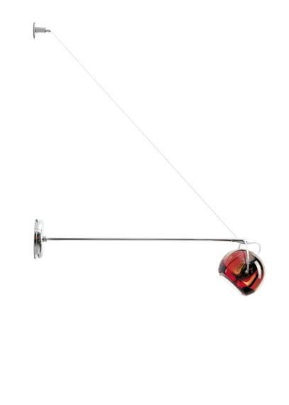 Lampa ścienna Fabbian BELUGA COLOUR D57 D03 03 red