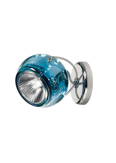 Lampa ścienna Fabbian BELUGA COLOUR D57 G13 31 blue
