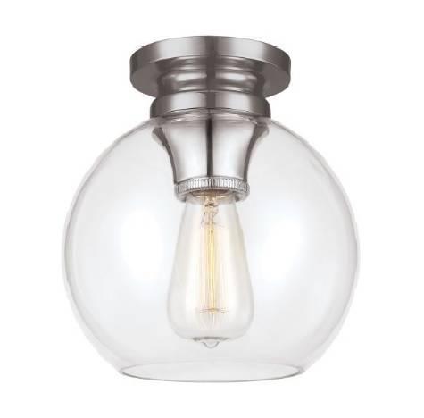 Lampa sufitowa Elstead Lighting Tabby FE-TABBY-F-PN Nikiel