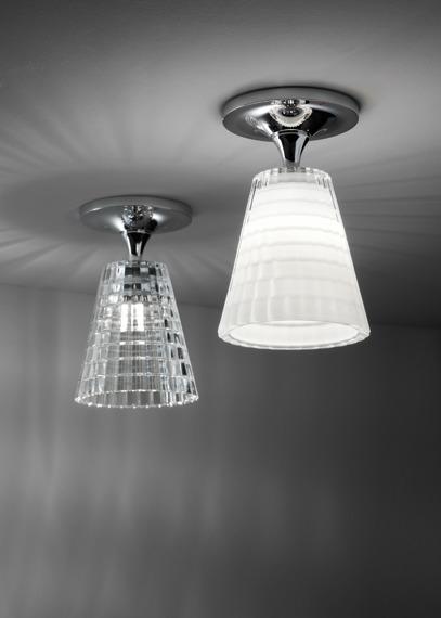 Lampa sufitowa Fabbian FLOW D87 E01 00 cristal