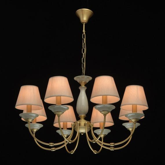 Lampa wisząca 8 płomienna MW-Light Classic 713010608