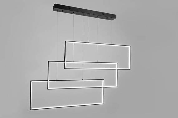 Lampa wisząca Geometric Ledowa Auhilon Projekt P2822-96W