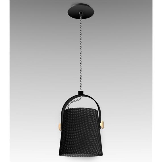 Lampa wisząca Mantra Nordica E27 1L 4927