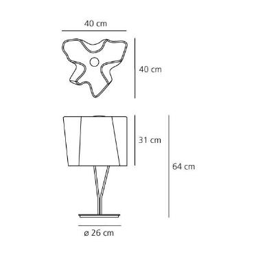 Lampka Logico 0457020A Artemide