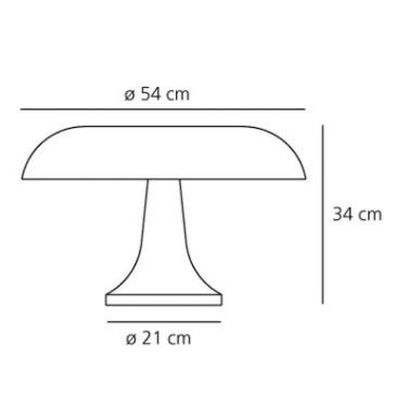 Lampka Nesso 0056010A Artemide