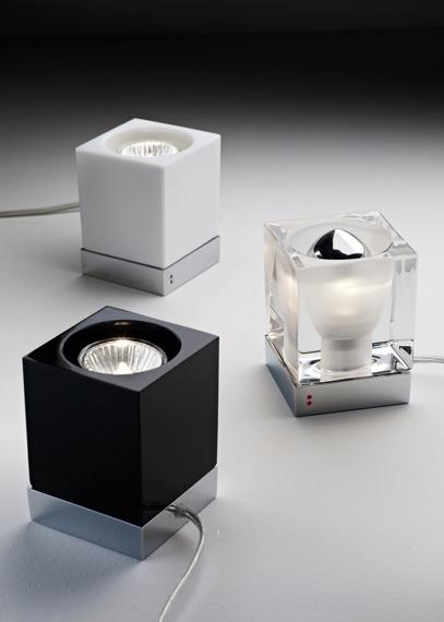 Lampka stołowa Fabbian CUBETTO BLACK D28 B03 02