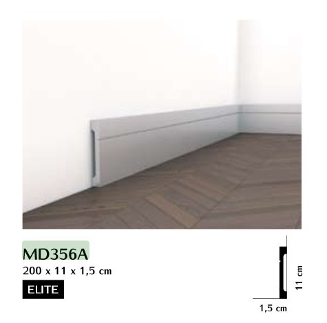 Listwa przypodłogowa Mardom MD356A