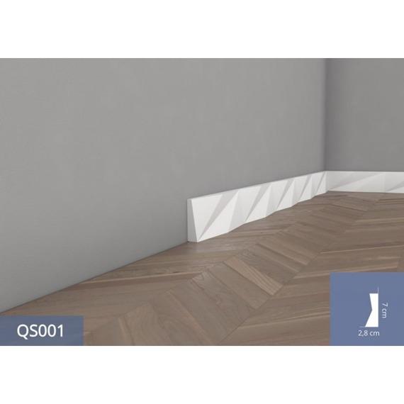 Listwa przypodłogowa Origami Mardom Decor QS001