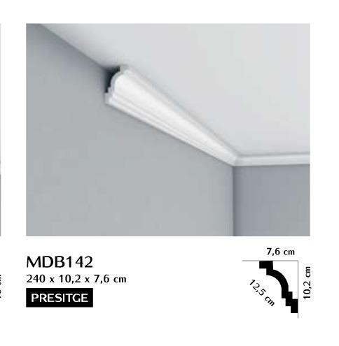 Listwa przysufitowa gładka Mardom MDB142
