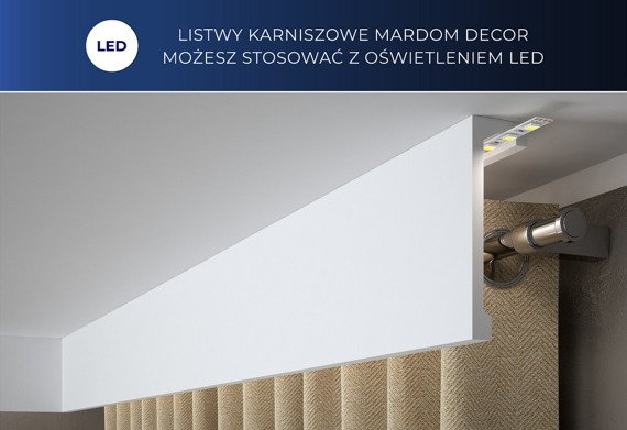 Mardom Decor QL066 Listwa karniszowa