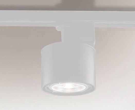 Miki 6614 Shilo Biały Reflektor do szynoprzewodu