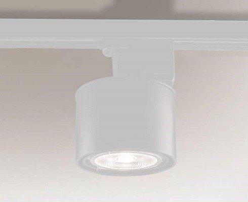 Miki 6614 Shilo Biały Reflektor do szynoprzewodu G53
