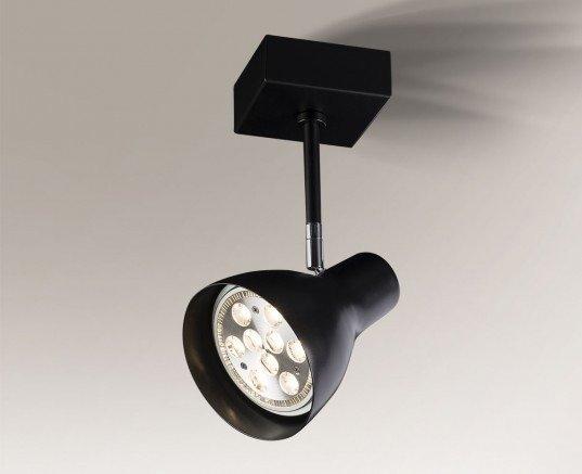 Mima 2255 Shilo Czarny Lampa sufitowa