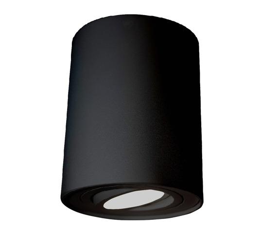 Mistic Ecotube Oprawa sufitowa kolor czarny 1 x 50 W GU10
