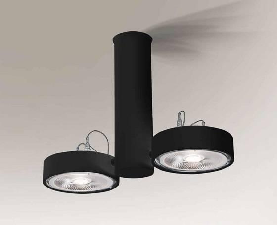 Natori 7213 Shilo Czarny Lampa sufitowa G53