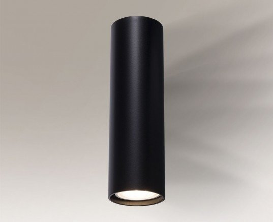 Noda 4438 Shilo Czarny Lampa ścienna