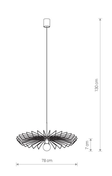 Nowodvorski Umbrella Zwis 8874