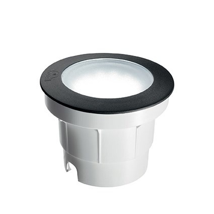 Oprawa Najazdowa Ceci Round Fl1 Big Ideal Lux czarna 15,5 cm IP 67