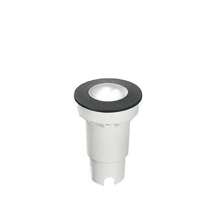 Oprawa Najazdowa Ceci Round Fl1 Small Ideal Lux czarna 9 cm IP 67