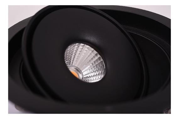 Oprawa wpustowa Azzardo Boston 1 Round AZ3470 Czarny LED
