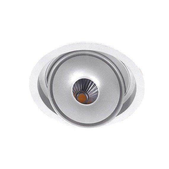 Oprawa wpustowa Azzardo Boston 1 Round AZ3471 Biały LED