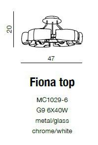 Plafon Azzardo Fiona Top MC1029-6