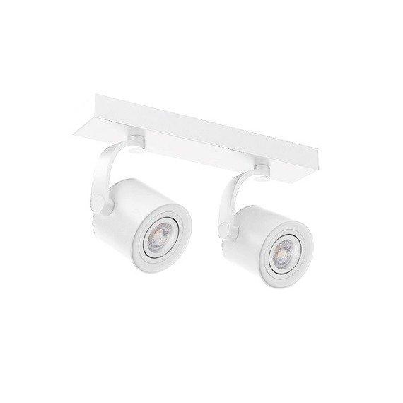 Plafon, Spot Azzardo 2xGU10 Bross ARM AZ3502 Biały