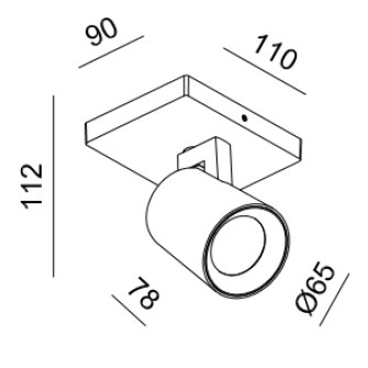 Reflektor Eyespot Mistic MSTC-05411451