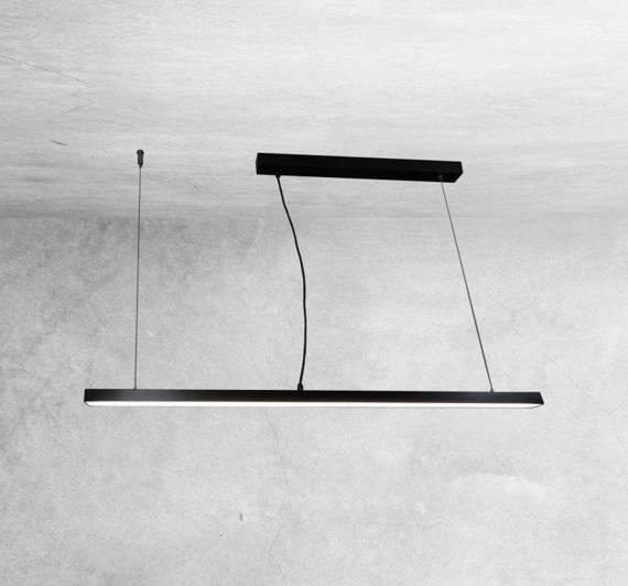 Shilo Hiate 1840 Czarna Oprawa wisząca 60cm