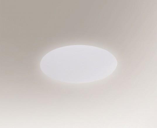 Suzu 4470 Shilo Biały Lampa ścienna