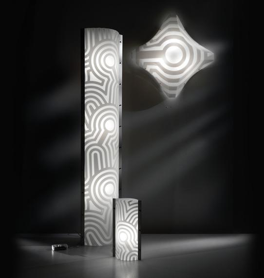 Włoska lampa sufitowa Slamp Venti 54 cm