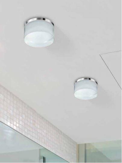 Wpust łazienkowy Azzardo Linz LED 3000K IP44 AZ2774