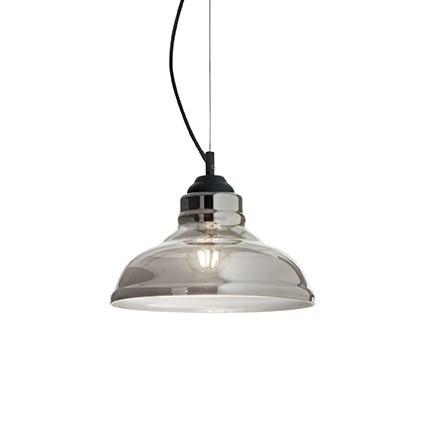 Zwis BISTRO SP1 PLATE 112343 srebrno szara Ideal Lux