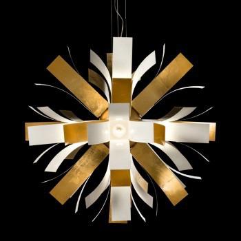 Żyrandol Facon de Venice BLOOM SO 120 white/golden