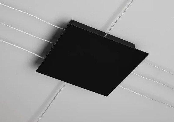 Żyrandol LED Sforzin Area kolor czarny